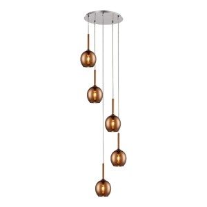 LAMPA MONIC MD1629-5B COPPER