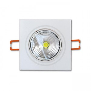 Downlight 5W COB kwadrat 2700K